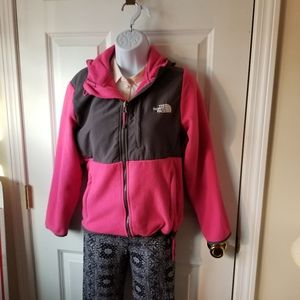 The North Face Hooded Jacket  Girls Size Medium